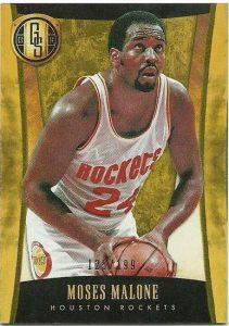 Moses Malone - 2013/14 Gold Standard Basketball