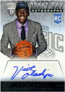 Victor Oladipo - Draft Day Autograph