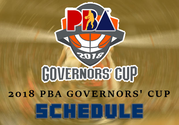 2018 PBA Governors' Cup Game Schedule – Elimination Round