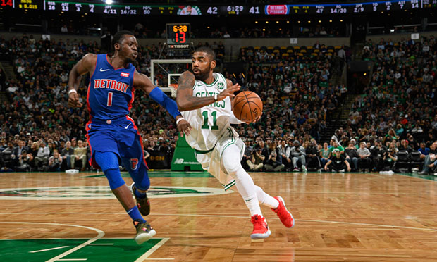 Kyrie Irving went on fire especially in the third quarter where he swished  three three-pointers and exploded with 11 points during their 23-7 run and  ... 92fd1c98d