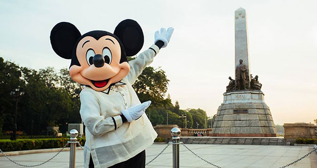 Mickey Mouse In Manila As Part Of His Birthday Celebration