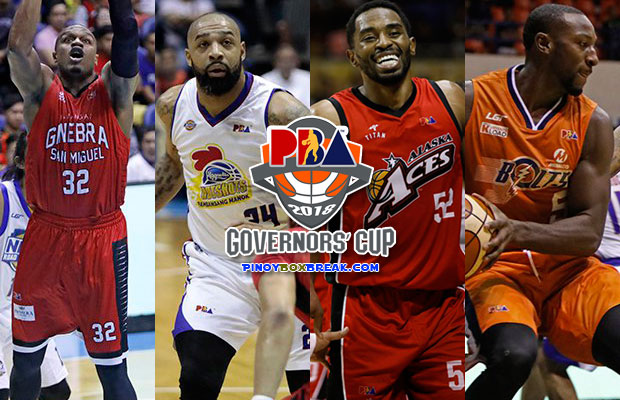 2018 PBA Governors' Cup Game Schedule - Semi-Finals Round