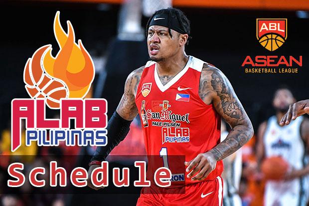 Alab Pilipinas Schedule - 2018/19 ASEAN Basketball League | Elimination Round