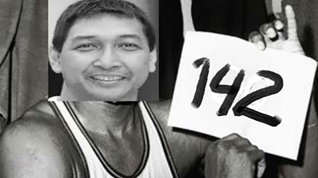 Allan Caidic Still Got His Touches From The Three Point Land, Scored 142 Points In Ilocos Sur