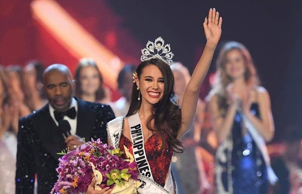 Miss Philippines Catriona Gray The Newly Crowned Miss Universe