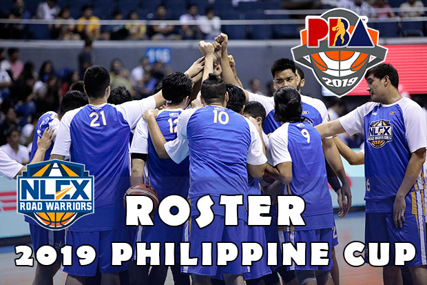 NLEX Road Warriors Roster | 2019 PBA Philippine Cup