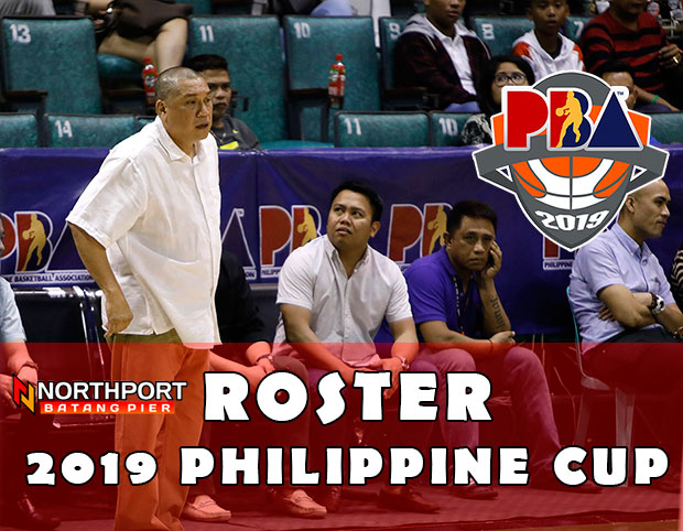 NorthPort Batang Pier Roster | 2019 PBA Philippine Cup
