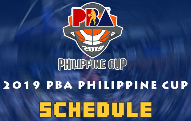 2019 PBA Philippine Cup Schedule - Elimination Round