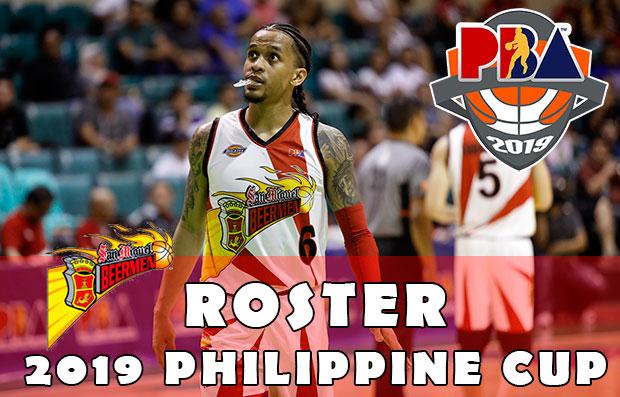 San Miguel Beermen Roster | 2019 PBA Philippine Cup