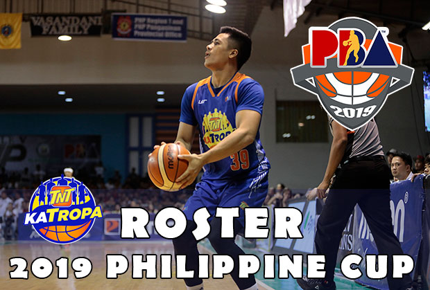 Talk 'N Text KaTropa Texters Roster | 2019 PBA Philippine Cup