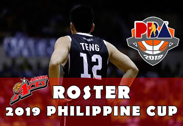 Alaska Aces Roster - 2019 PBA Philippine Cup