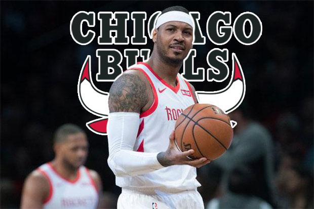 NBA Trade Alert: Carmelo Anthony Got Traded To The Chicago Bulls