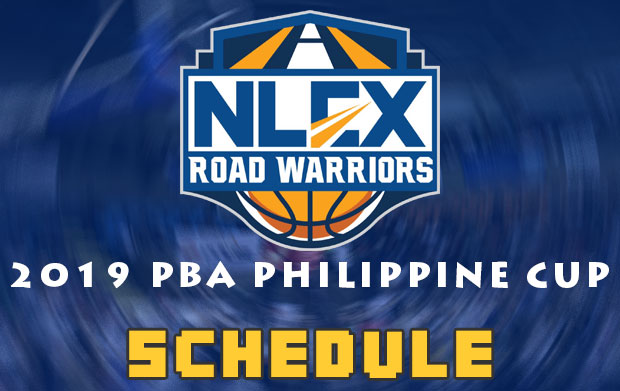 NLEX Road Warriors Schedule | 2019 PBA Philippine Cup | Elimination Round