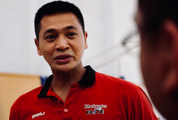 Rommel Adducul Joins Blackwater Elite Coaching Staff, Assigned To Help Improve Their Big-men