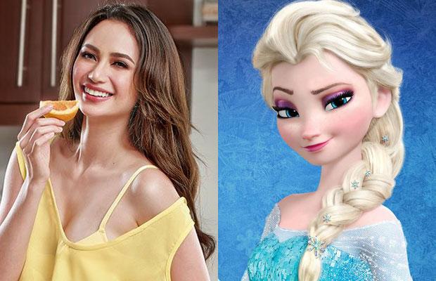 Look: Arci Muñoz Transformed Herself Into A Disney Princess