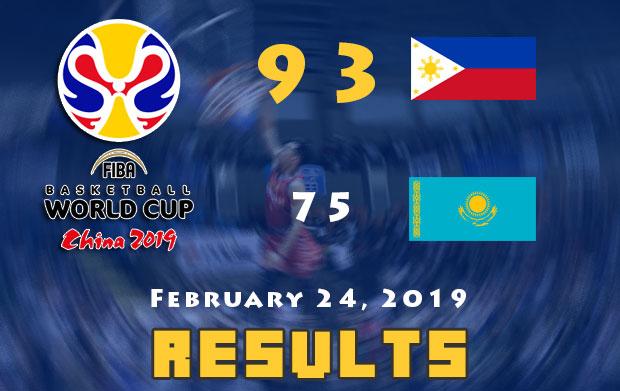 Gilas vs Kazakhstan Final Score