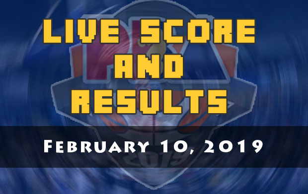 PBA Live Score And Result: February 10, 2019