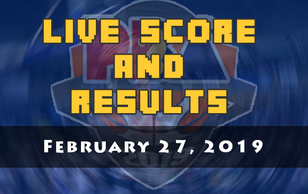 PBA Live Score And Result: February 27, 2019