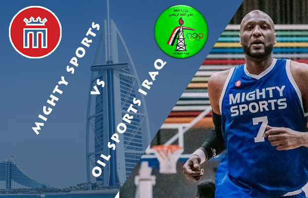 Mighty Sports Philippines vs Oil Sports Iraq Livestream | February 8, 2019 | 30th Dubai International Basketball Tournament | Quarterfinals