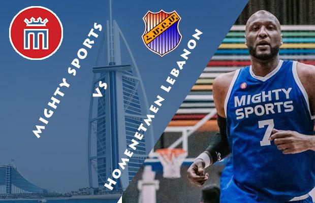 Mighty Sports Philippines vs Homenetmen Lebanon Livestream | February 4, 2019 | 30th Dubai International Basketball Tournament