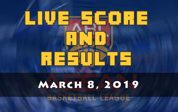 Alab Pilipinas Live Score And Result: March 8, 2019 (ABL)