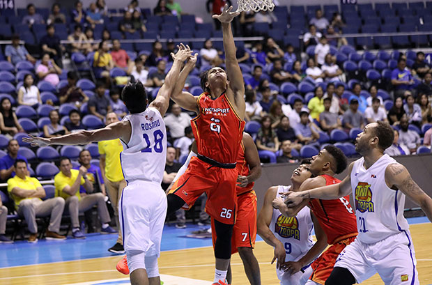 Lervin Flores Helps Batang Pier Snapped Losing Skid