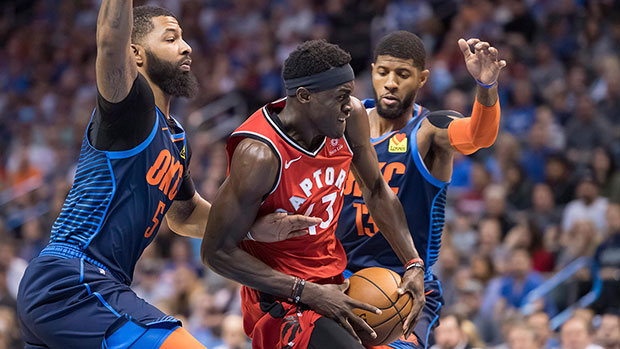 f7cac8431a6 Oklahoma City Thunder vs Toronto Raptors