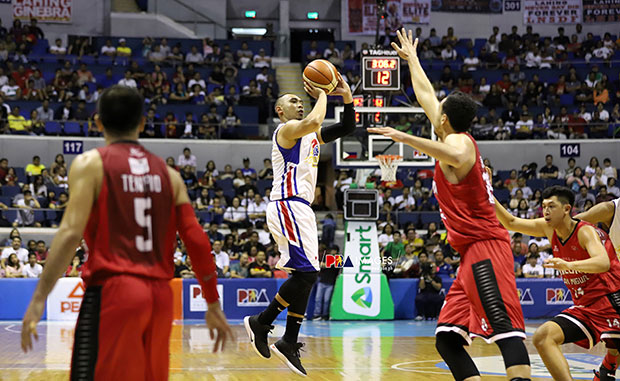Paul Lee Sparked Hotshots Run, Wins Manila Clasico Quarterfinals Series