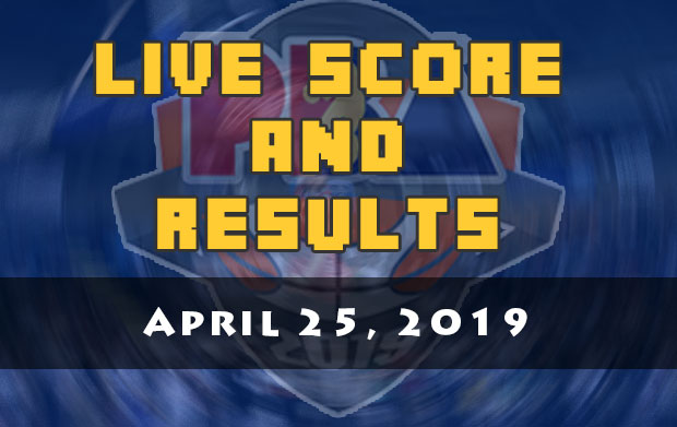 PBA Live Score And Result: April 25, 2019