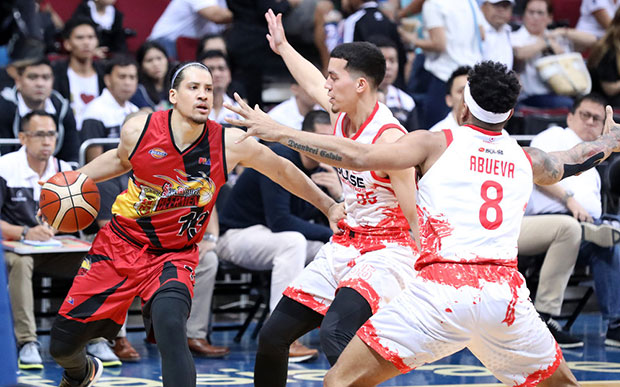Beermen Draws First Blood, Secured Game 1 Victory Over The Fuel Masters