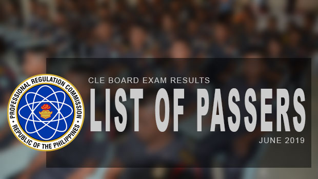 PRC Exam Results Criminologist Board Exam CLE June 2019