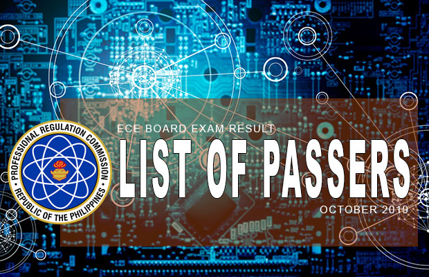 PRC Exam Results: ECE Board Exam October 2019 Result | List Of Passers