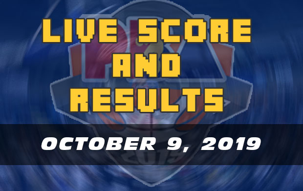 PBA Live Score And Result: October 9, 2019 (Wednesday)