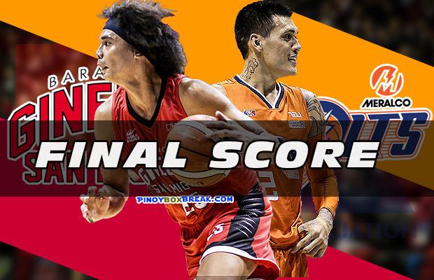 Pba Recap Meralco Vs Ginebra Final Score 2019 Pba Governors Cup November 3 2019 Pinoyboxbreak