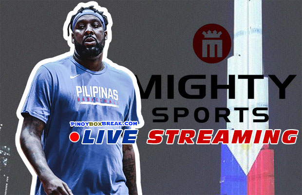 Mighty Sports Philippines vs UAE Live Streaming | January 23, 2020 | 31st Dubai International Basketball Tournament