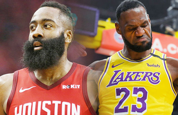 Los Angeles Lakers Vs Houston Rockets Game 1 Live Scores ...