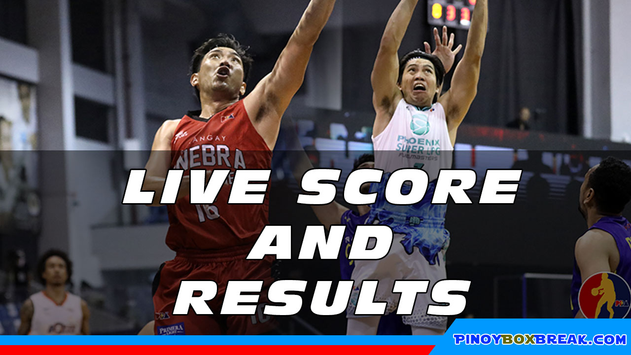 Pba Live Score And Result Ginebra Vs Phoenix 2020 Pba Bubble Philippine Cup October 21 2020 Pinoyboxbreak
