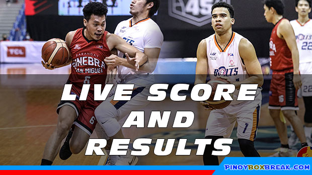 Pba Live Score And Result Meralco Vs Ginebra Game 2 2020 Pba Bubble Philippine Cup November 20 2020 Pinoyboxbreak