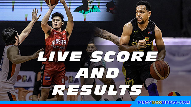 Pba Live Score And Result Ginebra Vs Tnt Tropang Giga Game 1 2020 Pba Bubble Philippine Cup November 29 2020 Pinoyboxbreak